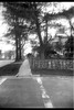 crosswalk, intersection, sidewalk, residential neighborhood, Durham, North Carolina, Afga Chief, Arista.Edu 200, Ilford Ilfosol 3 developer, 4.3.18 (steve aimone) Tags: crosswalk sidewalk intersection neighborhood residential durham northcarolina afgachief aristaedu200 ilfordilfosol3developer 6x9 120 film 120film mediumformat
