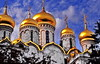Moscow Cathedral of the Annunciation (gerard eder) Tags: world travel reise viajes europa europe russia moscow moskau moscú moscu city ciudades cityscape cityview städte street stadtlandschaft streetlife urban urbanlife urbanview outdoor cathedral catedral kathedrale orthodoxchurch