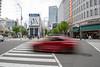 Time passed me by. (MMM765 Listener) Tags: red car building street kobe japan nikon d850