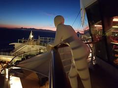 Just watching the stars (Tony Shertila) Tags: spain azura barcelna city cruise europe outdoor