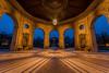 Dianatempel - Hofgarten (hjuengst) Tags: münchen munich blauestunde bluehour bluesky tempel temple pavilion hofgarten bayern bavaria architektur architecture dianatempel garden garten