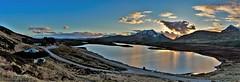Knocken Crag Sunset 04-04-18 (2) (johndunlop17) Tags: knockan crag scotland highlands