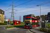 Go Ahead London LT946 LTZ2146 route EL1 Barking Riverside (TfLbuses) Tags: tfl public transport for london red double decker buses wrightbus new routemaster borismaster nb4l hybrid east transit elt go ahead