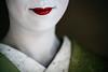 Red (Trent's Pics) Tags: female geisha girl japan kimono kyoto lifestyle lips lipstick maiko makeup people portrait red spiritual woman