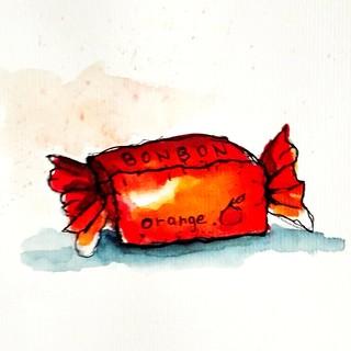 Bonbon à l'orange.