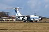 Volga IL-76 (Dougie Edmond) Tags: plane airplane aircraft airport canon spring sunshine soviet prestwick scotland unitedkingdom gb