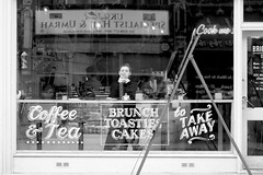 _MG_4631 (JetBlakInk) Tags: streetphot streetphotography women shopfront composition reflections iphonex appleiphone coffeeshop cafe