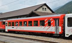 Realp 04.08.2017 (The STB) Tags: ewii fo furkaoberalp narrowgauge schmalspuhrbahn schweizereisenbahnen schweizerbahnen dieschweiz swissrailways switzerland