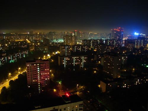 Вид с 29 этажа гостиницы ©  ayampolsky
