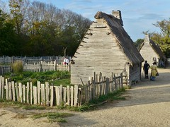 colonial scene (IceM626) Tags: architecture history colonial plimothplantation plimoth fence