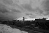 Gloomy morning in Lowell (MikeWeinhold) Tags: lowell massachusetts mills clouds city blackandwhite 6d 1740mm