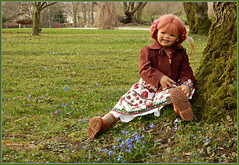 Sanrike ... (Kindergartenkinder) Tags: kindergartenkinder annette himstedt dolls sanrike grugapark essen blausternchen