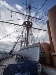 HMS Warrior 2018 03 22 #7 (Gareth Lovering Photography 5,000,061) Tags: hms warrior 1860 ship royalnavy britishnavy portsmouth england olympus omdem10ii 918mm garethloveringphotography