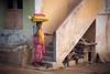 Dwelling Place (ludwigriml) Tags: bag bangle bracelet dog dropgirandole eardrop hit india jewelry pendant pink prisma sack sandals sari staircase tamilnadu tamilwomen tiruvannamalai women wood wristlet yellow earring gold window