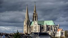 Cathédrale Notre-Dame de Chartres (Philippe Vieux-Jeanton) Tags: cathédrale notredamedechartres charte gothique beauce monumenthistorique patrimoinemondial unesco
