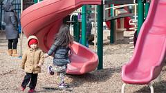 Ferryway's Playground (kuntheaprum) Tags: majorthomasmeninopark menino charlestown boston cityscape nikon d80 samyang 85mm f14 water tobinbridge cityofboston