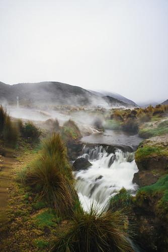 waterfalls & geysers