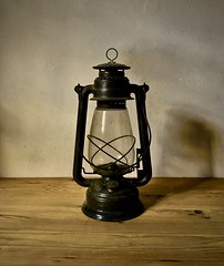 (David Ian Ross) Tags: colour legacy timber mineral ore glass steel pollution light climate 20thc hurricane storm grease smudge residue lantern gremlin unlit dark oil paraffin lamp antique fuel soot shadow carbon burn black