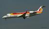 Bombardier  CRJ ~ EC-INF  Iberia (Aero.passion DBC-1) Tags: spotting ory 2008 dbc1 david biscove aeropassion airport avion aircraft aviation plane orly airlines airliner bombardier crj ~ ecinf iberia