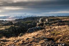 Islande, Thingvellir, 1 (Patrick.Raymond (4M views)) Tags: islande froid gel hiver neige glace cascade cercle dor hdr nikon