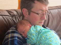 James Hockey with daughter Maria born 25.12.2015 (Twomey-Kavanagh-Hockey & Descendants) Tags: father daughter christmas