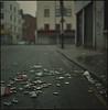 your laughs in the gutter... (steve-jack) Tags: hasselblad 501cm 80mm cb fuji reala 100 film 6x6 medium format tetenal c41 kit epson v500 london