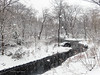 The First Day of Spring (CVerwaal) Tags: centralpark northwoods snow theloch olympustg4 spring