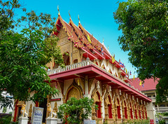 Buddhist temple in Chiang Mai, Thailand (phuong.sg@gmail.com) Tags: ancient architecture art asia asian attraction background blue brick buddha buddhism buddhist building culture design destroyed eastern faith famous gold golden history landmark national old oriental pagoda palace place pray religion religious roof ruins sculpture spiritual spirituality statue stone temple thai thailand tourism tower traditional travel vacations wat worship