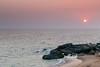 Sunset (Balaji Photography') Tags: sunny sunlight sunset sunrays sunbeam beach beachsand beachesofindia beachphoto muttam kanyakumari dusk india indiatravel indianphoto sea arabiansea hdr canon canoneos canondslr sky skyline skylinesky water nature scenic seascape landscape