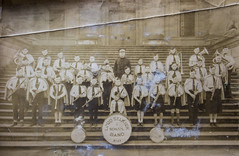 """082/365 Uncle Vic in the Lord Selkirk School Band, 1935 (ruthlesscrab) Tags: wah """"we'rehere"""" hereios """"365the2018edition"""" 3652018 """"day82365""""23mar18 """"lordselkirk"""" """"cedarcottage"""" vancouver school band yesteryear"""