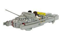 Dodge Skycharger EX-5000 - Back (T.Oechsner) Tags: lego classicspace ncs minifig spacemen