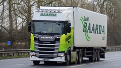 SN17 WGU (panmanstan) Tags: scania ng s500 wagon truck lorry commercial freight transport haulage vehicle a63 everthorpe yorkshire