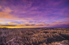 Bryce Canyon Amphitheater at sunset - 2013 (TAC.Photography) Tags: tomclarknet tacphotography bryce nationalpark travel nature landscape hoodoos redsky utah ngc