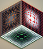 Trybox by Vasarely 1979 065a (Andras, Fulop) Tags: vasarely acryl canvas painting museum exhibition artwork opart nikon p7700