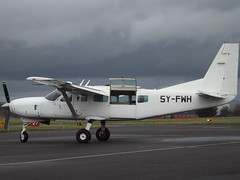 5Y-FWH Cessna Caravan 208 Aberdair Aviation (Aircaft @ Gloucestershire Airport By James) Tags: gloucestershire airport 5yfwh cessna caravan 208 aberdair aviation egbj james lloyds