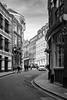 St Andrew's Hill (cybertect) Tags: carlzeisstessart45mmf28 cityoflondon ec4 london londonec4 sonya7 standrewshill blackwhite blackandwhite monochrome