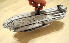 Complete with handle :) (Cpt. Ammogeddon) Tags: star wars lego moc custom ucs mini scene movie space ship vehicle mod photo real life play kid teen hobby