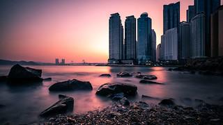 Dongbaek Park - Busan, South Korea - Seascape photography