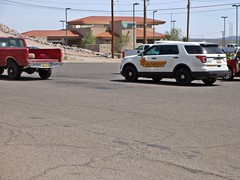SCSO  4/12/2018 (THE RANGE PRODUCTIONS) Tags: smalltownsouthwest southwestus sierracountynm nm desert newmexico truthorconesquencesnm town vehicle lawenforcement law sheriff department deputy car cop partol unit pickup fordpoliceinterceptorutility