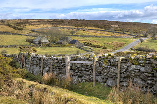 Farm buildings on Dartmoor