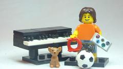 Brick Yourself Custom Lego Figure Busy Kid