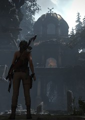 Lost City | Rise of the Tomb Raider (Stellasin) Tags: gaming game dark darkness beauty destruction mods weather reflection people trees flare graphics hot photography sky mountains lara croft is love beautiful girl nevermind these tags ruins caves tomb raider mystery treasure hunter