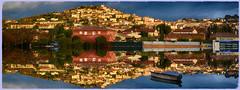 Montage Photoshop Pierrefeu du Var. (GerardMarsol) Tags: photoshop montage village reflet pierrefeuduvar var sudest paca provence