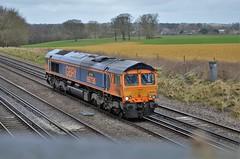66736 (stavioni) Tags: gbrf railfreight class66 shed diesel railway train rail