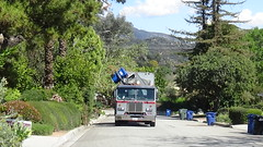Athens Services- #456 returns from Santa Paula (WesternWasteManagement) Tags: athens services heil rapid rail westernwastemanagement sierra madre garbage refuse truck trash
