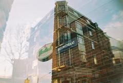 Nieuwstraat (abusedseconds) Tags: double exposure lomo la sardina lomography 800iso