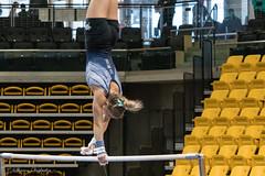 Bars Warm-Up (sharon.verkuilen) Tags: universityofnewhampshire gymnastics unh wildcats unevenbars sony a7rii towson maryland