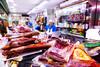 Ham Sales _3951 (hkoons) Tags: bayofbiscay westerneurope atlantic butcher europe european iberia oviedo spain spanish bacon coast coastal cured fish ham hog market meat ocean pig pork port purchase sea store vendor