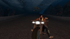 under water ride (xXTWOXx) Tags: fish shark seco secondlife sl bike tour ride