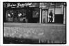 YOU'RE BEAUTIFUL (StockCarPete) Tags: shopfront stokey london uk lowpov yourebeautiful pavement bw tanning dental shops retail